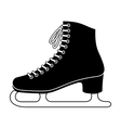 Ice skate vector image vector image
