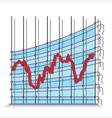 Misrepresented economy vector image vector image