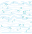 Winter pattern abstract background vector image vector image
