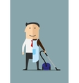 Work and life balance business concept vector image vector image