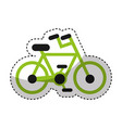 bicycle vehicle sport icon vector image