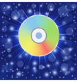 compact disc vector image vector image