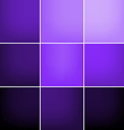 Lilac squares abstract background vector image vector image
