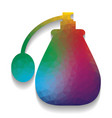 perfume icon colorful icon with bright vector image vector image