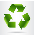 Recycle symbol vector image vector image
