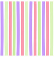 seamless colorful pattern with vertical stripes vector image