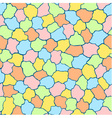 Seamless pattern made of colourful tiles vector image