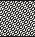 slanted rhombuses seamless geometric pattern vector image vector image