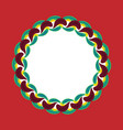swedish ethnic ornament vector image vector image
