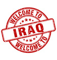 welcome to Iraq vector image vector image