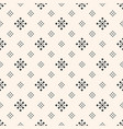abstract geometric texture with tiny rhombuses vector image vector image