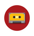 compact cassette classic icon graphic vector image vector image