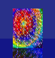 Fireworks Sparkles Background vector image