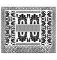 Greek pattern Ancient Hellenic decor vector image vector image
