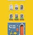 old european house vector image