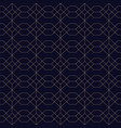ornamental seamless blue background grid vector image vector image