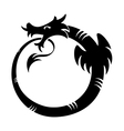 ouroboros tattoo vector image vector image