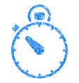 timer grunge icon vector image
