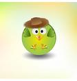 cute little boy bird vector image