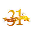 31 year ribbon anniversary
