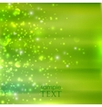 Abstract green background with sparkles