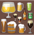 alcohol beer refreshment vector image vector image
