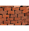 background of a red brick wall vector image