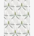 camomile seamless pattern floral design primitive vector image
