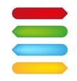 empty color tags vector image vector image