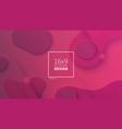 futuristic design pink background templates vector image