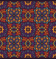 geometric ethnic pattern for fabric vector image vector image