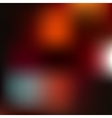 Red abstract blur background vector image