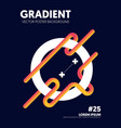 abstract gradient background decorative geometric vector image