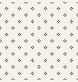 abstract seamless geometric dots pattern vector image vector image