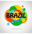 Brazil travel background for tourist banner
