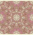 floral seamless abstract tiled pattern vector image vector image