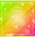 geometric dynamic diagonal colorful background vector image vector image