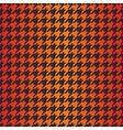 Houndstooth seamless dark gradient pattern vector image vector image