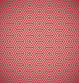 retro red seamless background vector image vector image