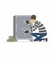 safecracker - cartoon people characters vector image