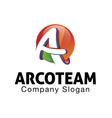 Acro Team Design vector image vector image