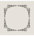 Grunge Vintage emblem Black decor abstract logo vector image vector image