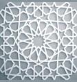 islamic ornament persian motiff white