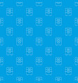 office closet pattern seamless blue vector image vector image
