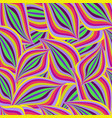 seamless bright colorful pattern with purple vector image