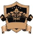 strong gorilla vector image