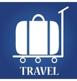 travel icon Globe vector image