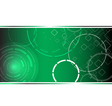 Abstract hi tech green background vector image vector image