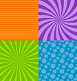 background seamless pattern vector image vector image