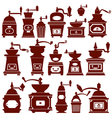coffee mill 380 vector image vector image